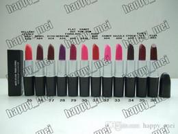 Factory Direct DHL Free Shipping New Makeup Lips M111 Metal Tube Matte Lipstick!3g