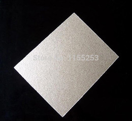 Wholesale High Qulity Microwave Oven Repairing Part x mm Mica Plates Sheets High Temperature Insulation Board with order lt no tr