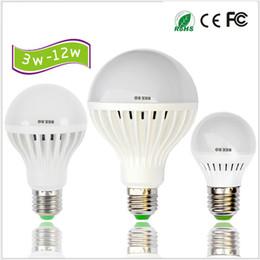 Free Shipping Retail SALE 110V 220V LED Bulbs E27 B22 Lights 3W 5W 7W 9W 12W Energy Saving LED Light Globe Lamp Lighting Bulb Spotlight LEDs