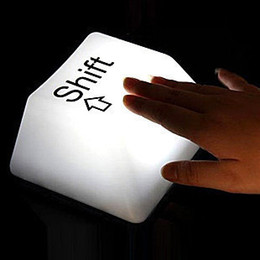 Wholesale 2015 USB dual creative gift ideas key light keyboard light creative night light furniture baby bedside lamp USBled lights