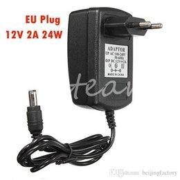 Nouveau Universal EU Plug pour LED Strips Caméra de sécurité CCTV pour DC 12V 2A Alimentation Adaptateur secteur Chargeur A3 à partir de cctv universelle fabricateur