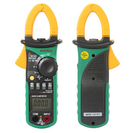 Wholesale Mastech MS2108A Auto Range DC AC Current Digital Clamp Meter Multimeter Voltage Frequency Meter Tester Backlight INS_404