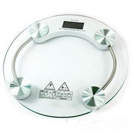 Wholesale Electronic scales household mini body scale according to the health of toughened glass scale cm