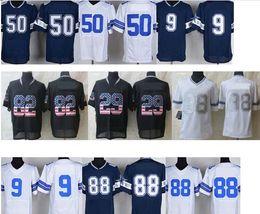 Wholesale Mens discount american football jerseys Tony Romo Jason Witten Dez Bryant Byron Jones Cowboy Elite Jersey Cheap Jerseys