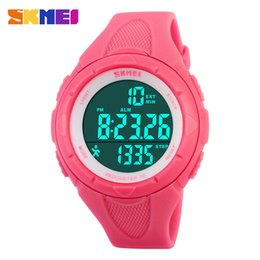 Wholesale-Fashion Pedometer Digital Watch Fitness For Men Women Outdoor Dress Wristwatches Skmei Sports Watches