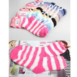 Wholesale New Women Thickening Towel Floor Fashion Keep warm Base Sleep Socks V3NF