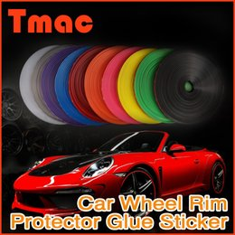 Wholesale 2015 Direct Selling Limited Automobiles Colors M Fashion Car Styling Diy Rim Stickers Wheel Protector Ring Accessories