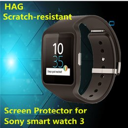 Wholesale New Arrival Ultra thin HD Screen Protector Flim For Sony Smart Watch Smartwatch order lt no track