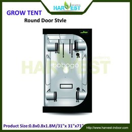 Wholesale grow box greenhouse growing bag grow tent greenhouse equipment digital lcd thermometer with probe size X80x180cm