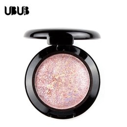 Wholesale Baked Cream Eye shadow Palette in Shimmer Metallic By UBUB Colors Night Rose NEW