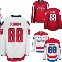 Wholesale 2016 WOMEN Washington Capitals Jerseys Nate Schmidt jersey white red Ice Hockey Jersey Third Jersey Embroidery Stitched S XL