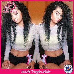 Wholesale Silk Top Human Wigs - kinky curly wigs mongolian kinky curly sik top full lace virgin brazilian human hair wig glueless silk base lace front wig afro wig