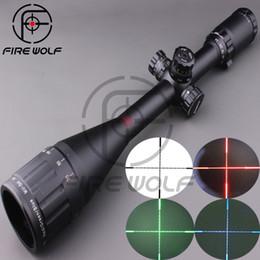 Wholesale LEAPERS UTG X50 Full Size AO Mil dot RGB Zero Locking Resetting Rifle Scope Hunting Scope mm ring mount