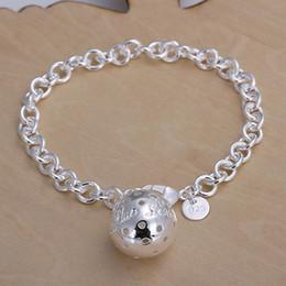 Hot sale best gift 925 silver Lob Bracelet DFMCH043, brand new fashion 925 sterling silver plated Chain link bracelets