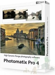 Wholesale HDR high dynamic image processing software Photomatix Pro v4 ENGLISH