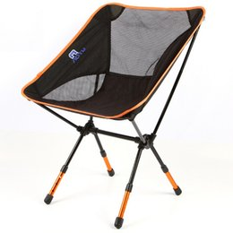 Wholesale Outdoor Folding Chair Thickened Ultra Light Portable Aluminum Multi Function Chairs Picnic Fishing Garden