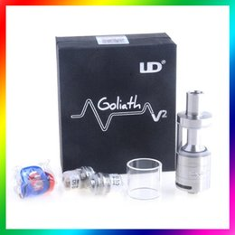 Wholesale Youde Goliath V2 RTA atomizer UD Goliath Rebuildable Goliath II atomizer Airflow control RTA goliath V2 VS Smok TFV4 tank