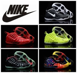 Wholesale 2016 New Colors Nike Air Foamposites One Penny Hardaway Basketball Shoes For Men Top Quality Air Foamposite Sport Sneakers Eur Size