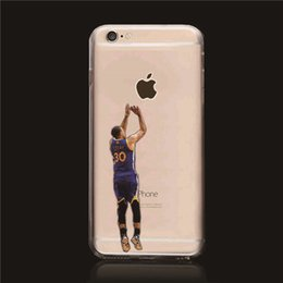 Wholesale Stephen Curry Good Quality TPU Case for iPhone iphone plus Best Durable phone cases