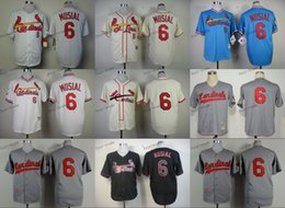 Wholesale st louis cardinals stan musial Baseball Jersey Cheap Rugby Jerseys Authentic Stitched Size