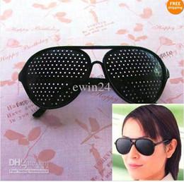 Wholesale Pinhole Glasses Vision Eyesight Improve Eyes Exercise New Good Quality Hot Selling Easy To Carry
