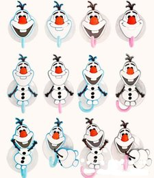 Wholesale 2015 NEW froze Snow treasure doll Olaf Seamless strong suction cup hooks Vacuum suction hook towel hook