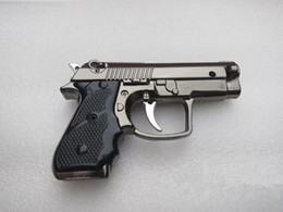 Wholesale Best Selling Portable Luxury Mini Gun Shaped Butane Flame Gas Cigarette Lighter with tracking number