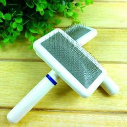 Wholesale Hot Cozy Balloon Pet Dog Dense Gilling Clean Brush Puppy Cat Hair Flea Comb Slicker
