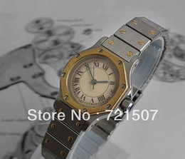 factory seller High quality low price -luxury 18K GOLD SS Ladies High Quality Quartz Sapphire Glass Calendar Watch womens watches top brand