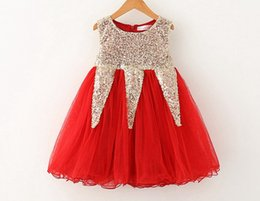 Free ship Baby Girls Christmas Lace Tutu Dresses Childrens Prubcess Sequins shiny Dresses 2016 Summer party dress birthday gift