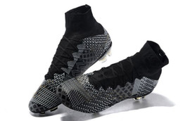 Wholesale 2015 Superfly IV BHM soccer cleats Black History Month release limited edition soccer boots football boots FG Firm Ground Real Carbon Fiber