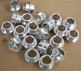 Wholesale bearing spacer for roller skates silver golden bushings
