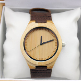 Wholesale Mens watch unique watch for men wood watch for women boyfriend watch retro watch Groomsmen watch gift idea Fiance Wedding Gift