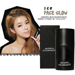 Wholesale Good Quality Korean CE High Light Beam Face Glow Liquid Foundation Magic Silky Face Glow ml Brighten BB Cream