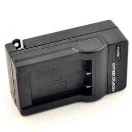 Baterías de la cámara digital de fuji en Línea-DSTE DC122 Cargador de pared para NP-170 FUJI NP-85 Batería SL300 SL305 SL245 SL240 SL260 SL1000 HDV-CX1800E Cámara réflex digital HDR-3700E