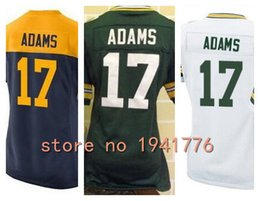 Wholesale Factory Outlet New Davante Adams womens Elite Football Jersey stitched Adams girls size S XXL green navy gold white ladies jerseys