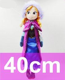 Wholesale New Frozen Anna cm Toys Princess Anime American Girls Fashion Doll Original for Children Gift for Christmas J0182