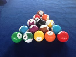 Wholesale Snookballs With Numbers Sports Game On Table Inflatable Huge Size Billiards Snook Ball Poolball Pool Ball Game Y8010B