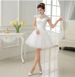 Shanghai Story fashion Bride short dress Bridesmaid Dresses elegant satin cocktail dress for party Club ball gown Women's dresses
