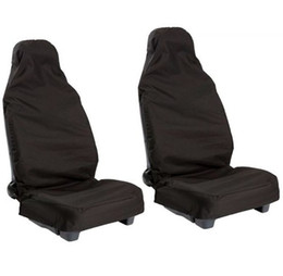Wholesale 2pcs Front Universal Waterproof Nylon Car Van Auto Vehicle Seat Cover Protector