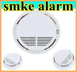 Wholesale High Sensitivity Stable Photoelectric Smoke Alarm Fire Smoke Detector Sensor Home Security System white for Home