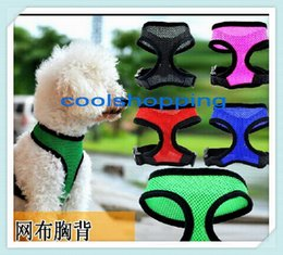 DHL 50pcs High Quality Mesh Dog Harness,Puppy Comfort Harness