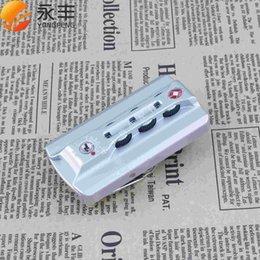 Wholesale New Products HK A Aluminum customs TSA luggage locks padlock fixed aluminum frame lock box lock consult Before buy C
