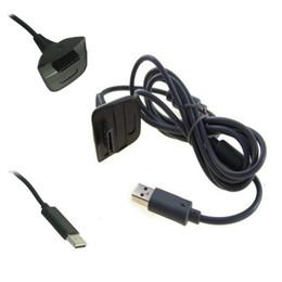 2016 charge de contrôleur sans fil xbox Gros-USB Lecture Chargeur Câble Câble pour Xbox 360 Controller sans fil charge de contrôleur sans fil xbox à vendre