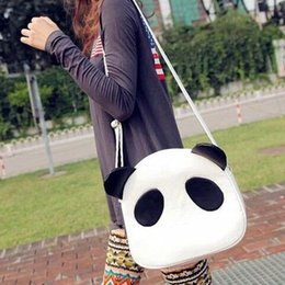 2014 New Brand Panda Shaped Women Messenger Bags Designer PU Leather Messenger Bags For Women Casual Women Bags