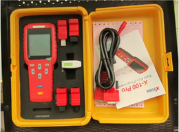 Wholesale 2016 original x100 pro auto Key Programmer top quality one year warranty newest version for all cars