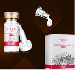 Wholesale 20pcs QYANF Pure EGF Original Liquid Acid Serum Skin Repairing With Desalt Imprint Anti Wrinkle Egf Factor Fade Dark Spots Skin Care