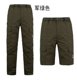 Tactical TAD quick dry breathable Detachable fast Easy Removal Short Long Sleeve Camo pants Trousers for Hiking Camping