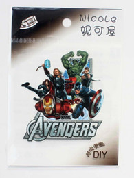 Wholesale Clothes Brand Iron Patches - 100pcs New cartoon Team and clothing brand logo Cloth quality Fashion iron on patches size 7-9cm Free shipping