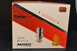 Amigo Mini Riptide Tank Coils 0.5ohm Coil Support 15-50W Fit With Amigo Mini Riptide Tank and Vogue 50w Kit Free Shipping